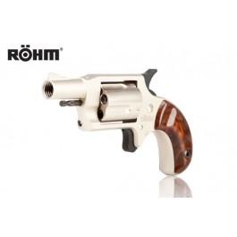 Rewolwer hukowy ROHM Little Joe Nikiel kal. 6mm