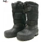 Buty śniegowce Fox ocieplane - czarne