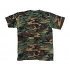 T-shirt Helikon Woodland